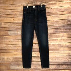 Hudson High waist skinny Barbara jeans Sz 30